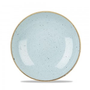 CHURCHILL Stonecast Miska coupe Duck Egg Blue